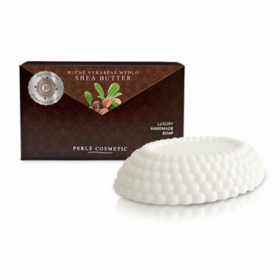 Perlé Cosmetic Shea butter - mýdlo 115g