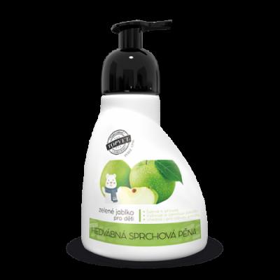 Perlé Cosmetic Sprchová pěna - zelené jablko - vhodné pro...