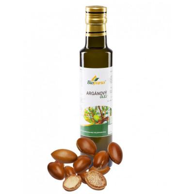 Arganový olej 250 ml Biopurus AKCE - EXPIRACE 30.6.2021