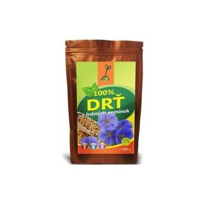 Drť z lněných semínek 100% 250 g AKCE