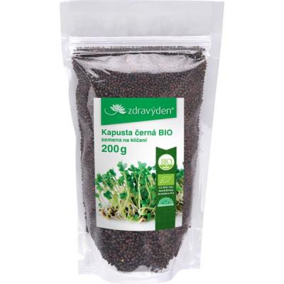 Kapusta černá BIO – semena na klíčení 200g
