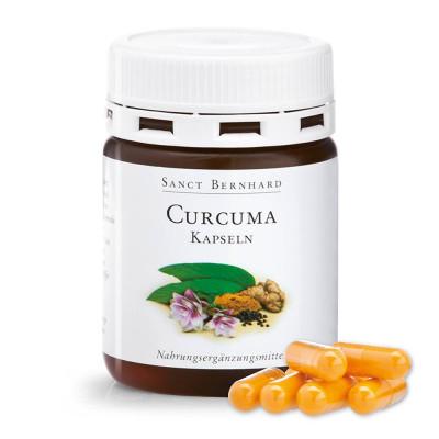 Kurkuma - Curcuma 60 kapslí SANCT BERNHARD