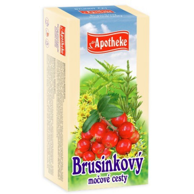 Apotheke bylinný čaj - Brusinkový 20x1,5 g