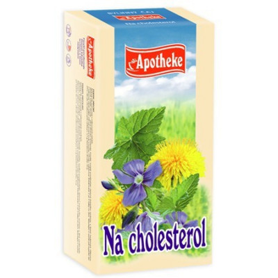 Apotheke bylinný čaj - Na cholesterol  20x1.5 g