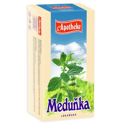 Meduňka lékařská bylinný čaj 20x1.5 g Apotheke