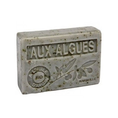 Mýdlo s bio olejem argánie - Aux Algues (mořské řasy) 100g