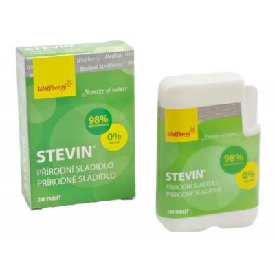 Stevin - 100% přírodní sladidlo 200 tablet Wolfberry