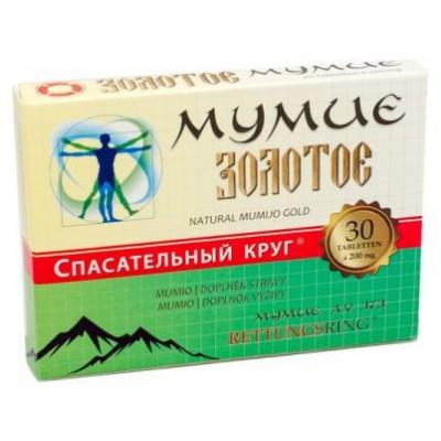 MUMIO Zlaté 0,2 g - 30tbl.