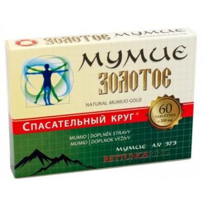 MUMIO Zlaté 0,2 g - 60tbl.
