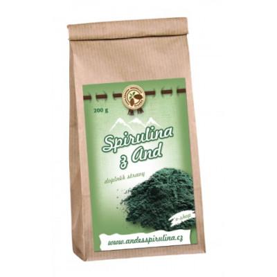 Spirulina z And - prášek - 100 g Čokoládovna Troubelice