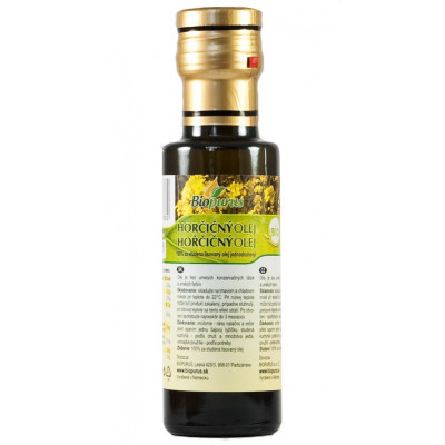 Hořčičný olej BIO 250 ml Biopurus