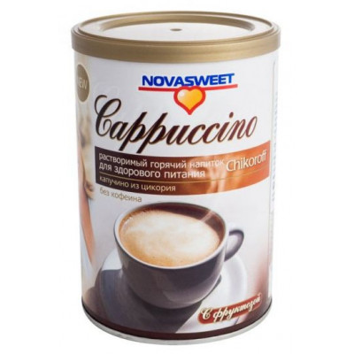Chikoroff - cikorkové capuccino bez kofeinu s fruktózou...