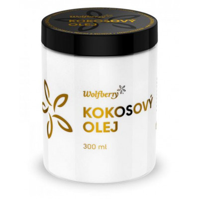 Kokosový panenský olej BIO 300 ml