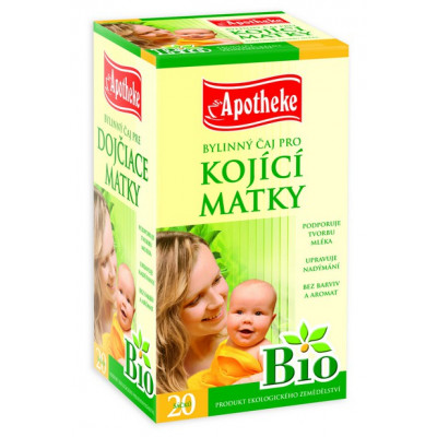 Kojící matky - bylinný čaj BIO 20x1,5g Apotheke