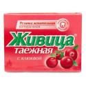 Sibiřská žvýkací pryskyřice s klikvou 5 ks
