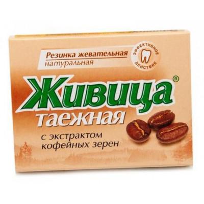 Sibiřská žvýkací pryskyřice s kávou 5 ks