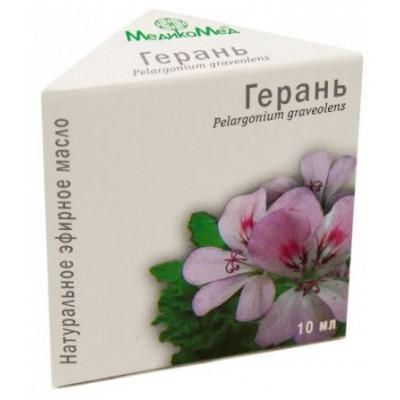 Pelargónie (geránium) - éterický olej 10 ml Medikomed