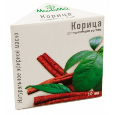 Skořice - éterický olej 10 ml Medikomed