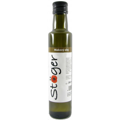 Makový olej BIO 500 ml Stoger