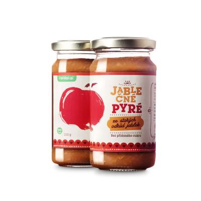 Jablečné pyré ze starých odrůd jablek BIO 210 g Koldokol