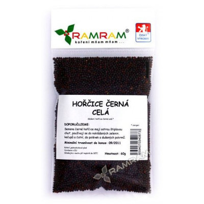 Hořčice černá celá 40 g RamRam