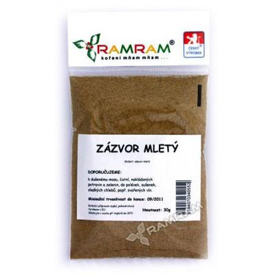 Zázvor mletý 25 g RamRam