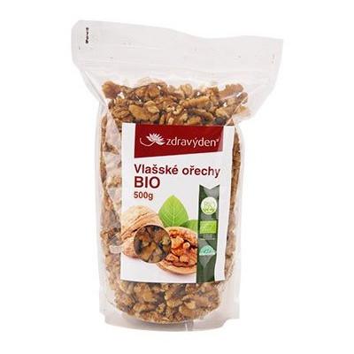 Vlašské ořechy 500 g BIO Zdravý den