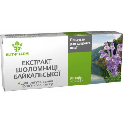 Šišák bajkalský – 80 tbl.