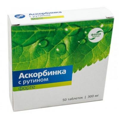 Askorbinka Forte s rutinem – 50 tbl