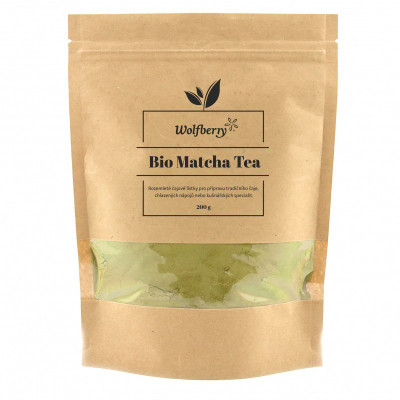Matcha tea BIO 200 g Wolfberry