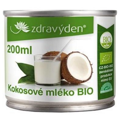 Kokosové mléko 200 ml BIO Zdravý den