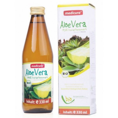 Aloe vera šťáva BIO 330 ml Medicura