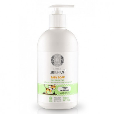 Dětské mýdlo pro každý den s přírodními výtažky z břízy a...