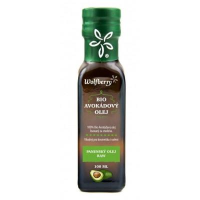 Avokádový olej BIO 100ml Wolfberry