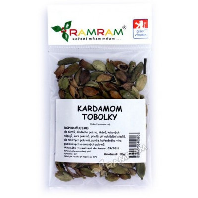 Kardamon tobolky 15 g RamRam