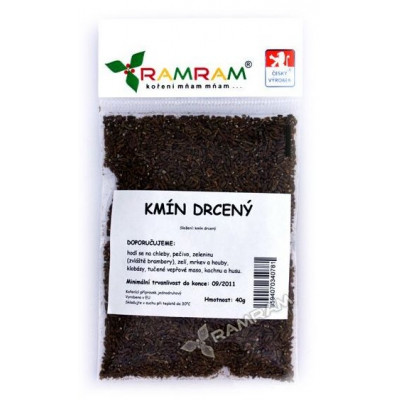 Kmín drcený 35 g RamRam