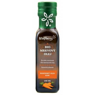 Mrkvový olej BIO 100 ml Wolfberry