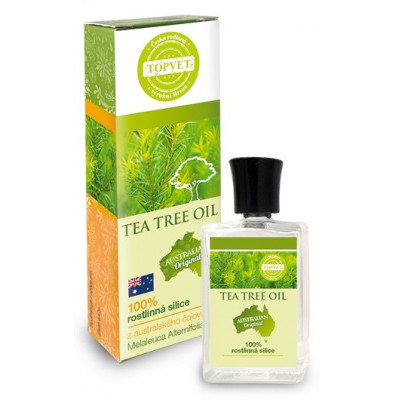 Tea tree oil - 100% silice 10 ml Topvet