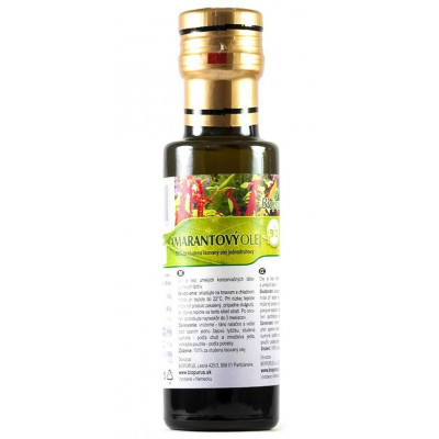 Amarantový olej (macerát) BIO 100 ml Biopurus