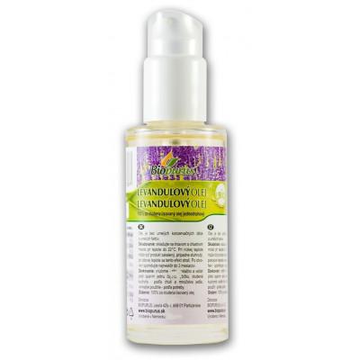 Levandulový olej BIO (macerát) s dávkovačem 100 ml Biopurus