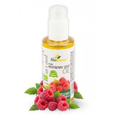 Malinový olej s dávkovačem 100% BIO 100 ml Biopurus
