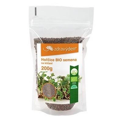 Hořčice - vysoká klíčivost 200 g Zdravý den