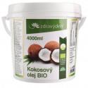 Kokosový olej BIO 4000 ml Zdravý den