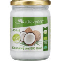 Kokosový olej BIO RAW 450 ml Zdravý den
