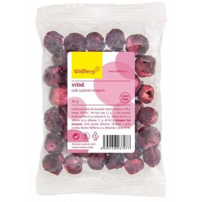 Višně sušené mrazem 20 g Wolfberry