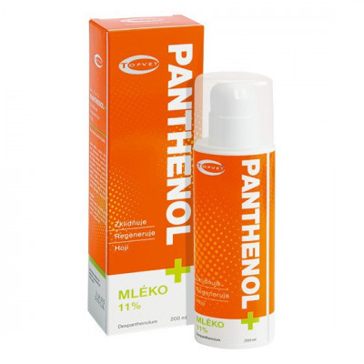 Topvet Panthenol+ Mléko 11% 200 ml