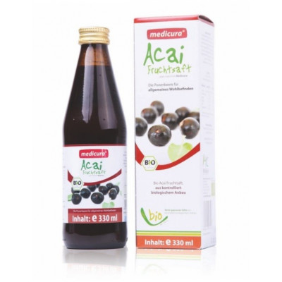 Acai berry šťáva BIO 330 ml Medicura