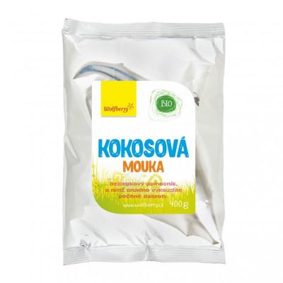 Kokosová mouka BIO 400 g Wolfberry