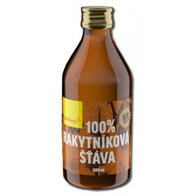 Rakytníková šťáva 100% BIO 250 ml Wolfberry