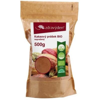 Kakao nepražené BIO 500 g Zdravý den
